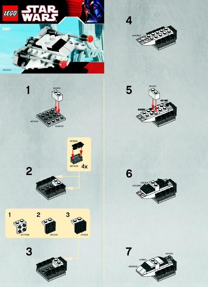 lego ghost ship star wars instructions