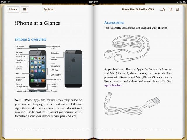 apple iphone 5 user instructions