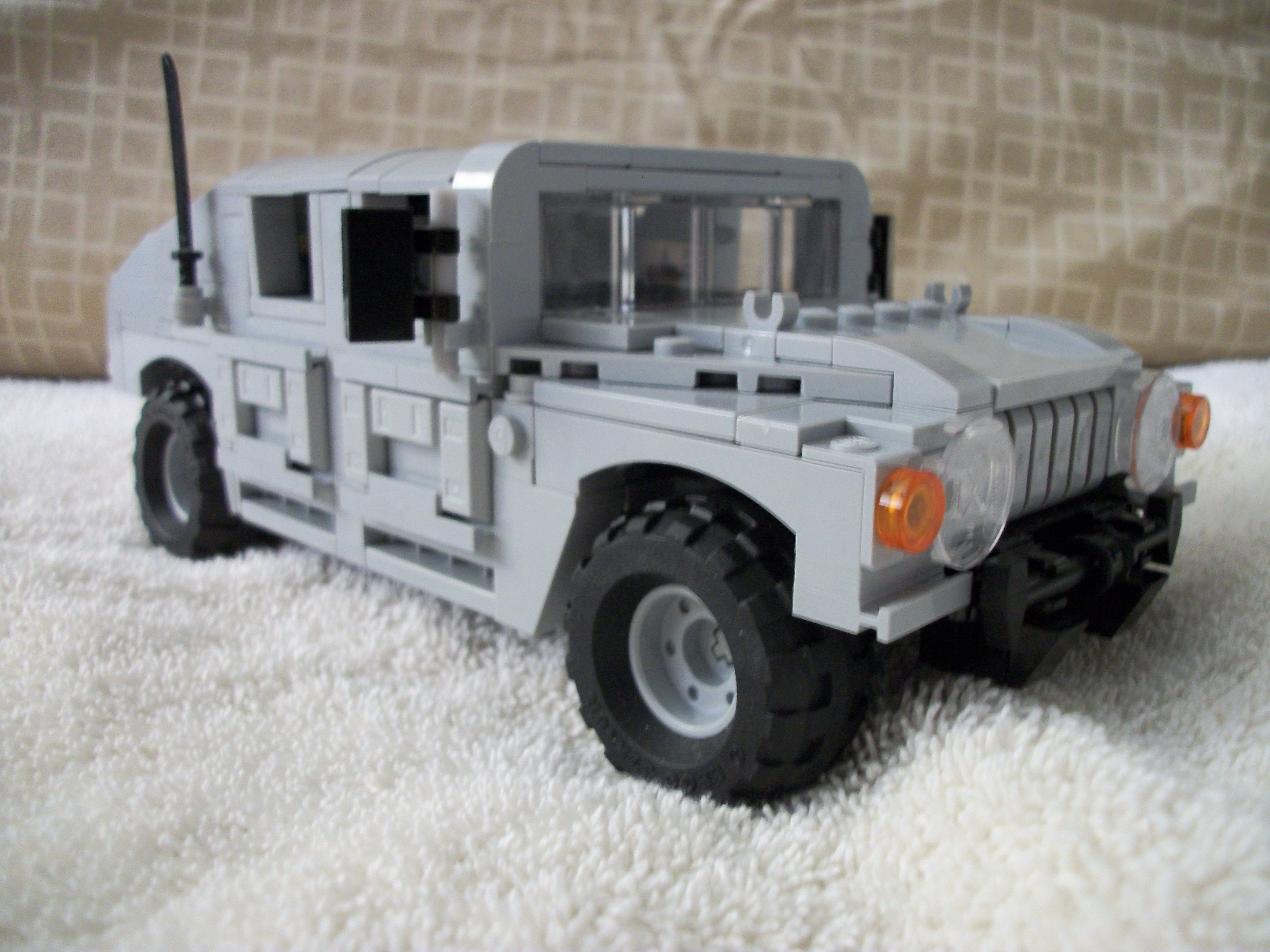 how to build a lego humvee instructions