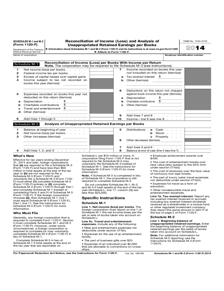federal income forms and instructions
