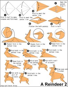 totoro origami instructions steps