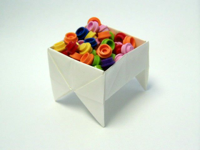 cool origami box instructables
