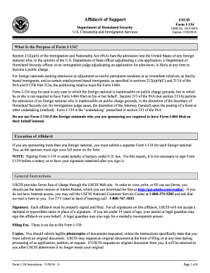 instruction guides for immigration sponsorship forms