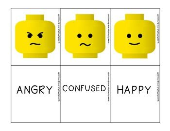 lego therapy instruction cards