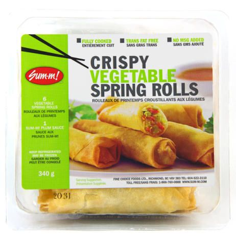 sum m spring rolls cooking instructions